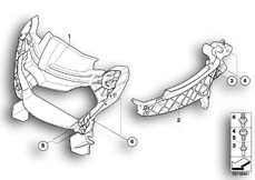 Goto diagram: BMW Classic Motorrad Modell R 1200 S (0366,0396)( ECE ), Category 46.63 FAIRING BRACKET :: Diagram: 46_0992