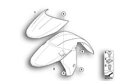 Goto diagram: BMW Classic Motorrad Modell K 1600 GT 17 (0F01, 0F11)( ECE ), Category 46.61 Wheel cover, front :: Diagram: 46_1028