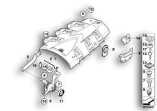Goto diagram: BMW Classic Motorbike Model R 1200 GS Adve. 10 (0470,0480)( ECE ), Category 46.54 Rear-carrier section, one-part :: Diagram: 46_1035