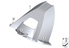 Goto diagram: BMW Classic Motorrad Modell HP4 (0D01, 0D11)( ECE ), Category 46.62 Wheel cover, rear :: Diagram: 46_1229