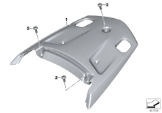 Goto diagram: BMW Classic Motorrad Modell K 1600 GT 17 (0F01, 0F11)( ECE ), Category 46.63 Rear trim panel, middle, grained :: Diagram: 46_1337