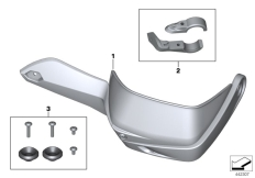 Goto diagram: BMW Classic Motorrad Modell R 1200 GS 10 (0450,0460)( USA ), Category 46.63 Protective gloves, white :: Diagram: 46_1391