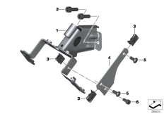 Goto diagram: BMW Classic Motorrad Modell C 650 Sport 16 (0C04, 0C14)( USA ), Category 46.63 Holder, ignition/steering lock :: Diagram: 46_1407