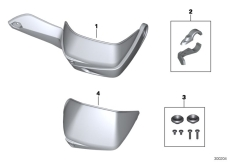 Goto diagram: BMW Classic Motorbike Model R 1200 GS Adve. 10 (0470,0480)( ECE ), Category 46.63 HAND PROTECTOR :: Diagram: 46_1471