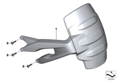 Goto diagram: BMW Classic Motorrad Modell R 1200 GS 17 (0A51, 0A61)( USA ), Category 46.62 Mudguard rear :: Diagram: 46_1486