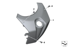 Goto diagram: BMW Classic Motorrad Modell C 650 GT 16 (0C05, 0C15)( ECE ), Category 46.63 Fairing middle section :: Diagram: 46_1503