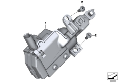 Goto diagram: BMW Classic Motorrad Modell K 1600 GT 17 (0F01, 0F11)( ECE ), Category 46.54 Central locking, case :: Diagram: 46_1638
