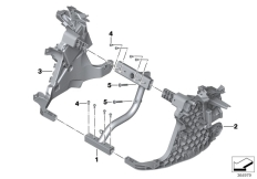 Goto diagram: BMW Classic Motorrad Modell C evolution (0C23)( USA ), Category 46.63 Front panel carrier :: Diagram: 46_1647