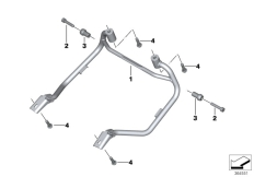 Goto diagram: BMW Classic Motorrad Modell R 1200 RS (0A05, 0A15)( USA ), Category 46.54 Case holder :: Diagram: 46_1674