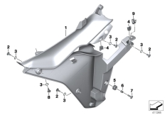 Goto diagram: BMW Classic Motorrad Modell R 1200 RS (0A05, 0A15)( USA ), Category 46.63 Inner part of fairing side section :: Diagram: 46_1752