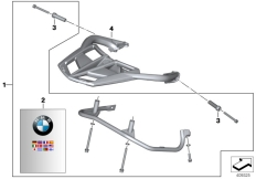 Goto diagram: BMW Classic Motorbike Model F 800 GT (0B03, 0B13)( USA ), Category 46.54 Case holder :: Diagram: 46_1798
