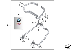 Goto diagram: BMW Classic Motorrad Modell F 700 GS (0B21)( BRA ), Category 46.54 Set, case holder, Vario case :: Diagram: 46_1800