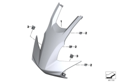 Goto diagram: BMW Classic Motorrad Modell C 650 Sport 16 (0C04, 0C14)( USA ), Category 46.63 Front trim panel centre part :: Diagram: 46_1816