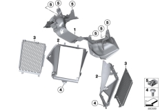 Goto diagram: BMW Classic Motorrad Modell R 1200 GS 17 (0A51, 0A61)( USA ), Category 46.63 Fork partition with air duct :: Diagram: 46_1956