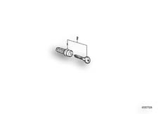 Goto diagram: BMW Classic Motorbike Model R 75 /7( ECE ), Category 51.15 SET OF SUITCASE LOCKS :: Diagram: 51S0061