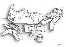 Goto diagram: BMW Classic Motorbike Model K 100 LT 87 (0506,0516)( ECE ), Category 51.20 PAINTED PARTS 575 ROT :: Diagram: 51_0009