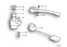 Goto diagram: BMW Classic Motorbike Model R 1200 C Indep. 00 (0405,0433)( ECE ), Category 51.25 Ignition/light switch and locks :: Diagram: 51_0162