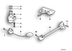Goto diagram: BMW Classic Motorbike Model R 1100 GS 94 (0404,0409)( USA ), Category 51.05 Ignition light switch/locking mechanism :: Diagram: 51_0165