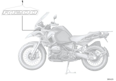 Goto diagram: BMW Classic Motorbike Model R 1200 GS Adve. (0A42)( BRA ), Category 51.14 Stick-on label :: Diagram: 51_0941