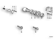 Goto diagram: BMW Classic Motorbike Model R 100 GS( ECE ), Category 51.15 MOUNTING PARTS F SET OF LOCKS :: Diagram: 51_2447