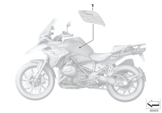 Goto diagram: BMW Classic Motorrad Modell R 1200 GS 17 (0A51, 0A61)( USA ), Category 51.14 Stick-on label :: Diagram: 51_5506