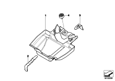 Goto diagram: BMW Classic Motorbike Model R 1200 GS Adve. 10 (0470,0480)( ECE ), Category 51.16 Tool box :: Diagram: 51_8575