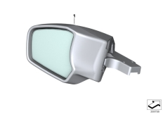 Goto diagram: BMW Classic Motorrad Modell R 1200 RT (0A03, 0A13)( USA ), Category 51.16 Mirror :: Diagram: 51_9638