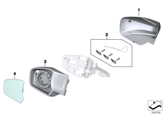 Goto diagram: BMW Classic Motorrad Modell R 1200 RT (0A03, 0A13)( USA ), Category 51.16 Mirror, add-on parts :: Diagram: 51_9639