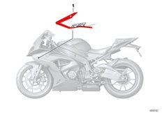 Goto diagram: BMW Classic Motorbike Model S 1000 RR 12 (0524,0534)( USA ), Category 51.14 Label, fairing side section :: Diagram: 51_9896