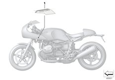 Goto diagram: BMW Classic Motorrad Modell R nineT Racer (0J21, 0J23)( USA ), Category 51.14 Stick-on label :: Diagram: 51_9987