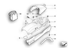 Goto diagram: BMW Classic Motorbike Model R 1150 RT 00 (0419,0499)( USA ), Category 52.53 TAIL TRIM :: Diagram: 52_1033