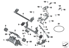 Goto diagram: BMW Classic Motorrad Modell R 1200 GS 17 (0A51, 0A61)( USA ), Category 52.53 Seat bench locking system :: Diagram: 52_3823