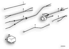 Goto diagram: BMW Classic Motorbike Model R75/5( ECE ), Category 61.05 VARIOUS ADDITIONAL WIRING SETS :: Diagram: 61_0210