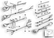 Goto diagram: BMW Classic Motorbike Model R 100 RS( ECE ), Category 61.05 Wiring harness :: Diagram: 61_0227