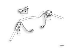 Goto diagram: BMW Classic Motorrad Modell R 1100 R 94 (0402,0407)( USA ), Category 61.31 COMBINATION SWITCH AT HANDLEBAR :: Diagram: 61_0261