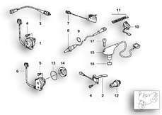 Goto diagram: BMW Classic Motorbike Model R 1200 C Indep. 00 (0405,0433)( ECE ), Category 61.31 VARIOUS SWITCHES :: Diagram: 61_0268