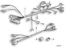 Goto diagram: BMW Classic Motorbike Model F 650 ST 97 (0163,0168)( USA ), Category 61.11 Wiring harness :: Diagram: 61_0277