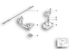 Goto diagram: BMW Classic Motorbike Model K 1200 GT 01 (0548,0558)( USA ), Category 61.12 Starter lead with mounting :: Diagram: 61_1227
