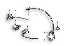 Goto diagram: BMW Classic Motorbike Model R69 S( ECE ), Category 61.25 Switch :: Diagram: 61_1259
