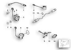 Goto diagram: BMW Classic Motorbike Model R 1150 GS Adv. 01 (0441,0492)( USA ), Category 61.31 VARIOUS SWITCHES :: Diagram: 61_1292