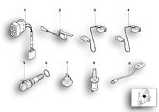 Goto diagram: BMW Classic Motorrad Modell C1 (0191)( ECE ), Category 61.31 VARIOUS SWITCHES :: Diagram: 61_1421