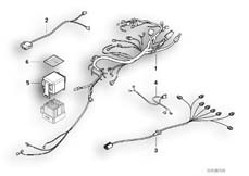 Goto diagram: BMW Classic Motorbike Model R 1200 CL (0442,0496)( USA ), Category 61.11 Wiring harness :: Diagram: 61_1637