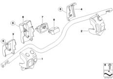 Goto diagram: BMW Classic Motorrad Modell R 1200 S (0366,0396)( ECE ), Category 61.31 COMBINATION SWITCH AT HANDLEBAR :: Diagram: 61_2327
