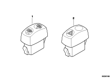 Goto diagram: BMW Classic Motorrad Modell G 650 GS Sertão (0136, 0146)( ECE ), Category 61.31 ADDITIONAL SWITCH :: Diagram: 61_2881