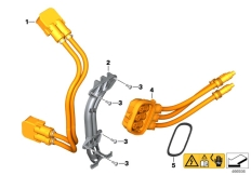 Goto diagram: BMW Classic Motorrad Modell C evolution (0C23)( USA ), Category 61.27 Wiring harness, link :: Diagram: 61_4076