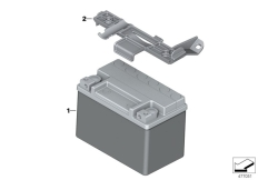 Goto diagram: BMW Classic Motorrad Modell G 310 GS (0G02, 0G12)( USA ), Category 61.21 Battery with holder :: Diagram: 61_5305