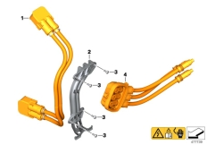 Goto diagram: BMW Classic Motorrad Modell C evolution (0C23)( USA ), Category 61.27 Wiring harness, link :: Diagram: 61_5324