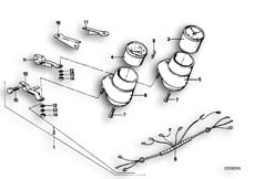 Goto diagram: BMW Classic Motorbike Model R65( USA ), Category 62.15 ADDITIONAL INSTRUMENTS :: Diagram: 62_0218
