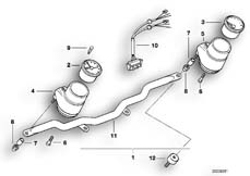 Goto diagram: BMW Classic Motorrad Modell R 80 R 91( ECE ), Category 62.15 ADDITIONAL INSTRUMENTS :: Diagram: 62_0246