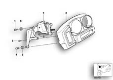 Goto diagram: BMW Classic Motorbike Model R 1150 GS Adv. 01 (0441,0492)( USA ), Category 62.11 DASHBOARD MOUNTING PARTS :: Diagram: 62_0367